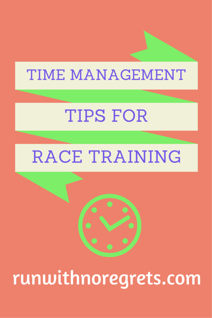 How can you balance life while still having a successful race training season? Find out by checking out these few time management tips!
