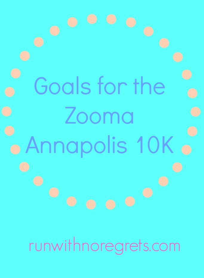 Goals Zooma Annapolis 10k