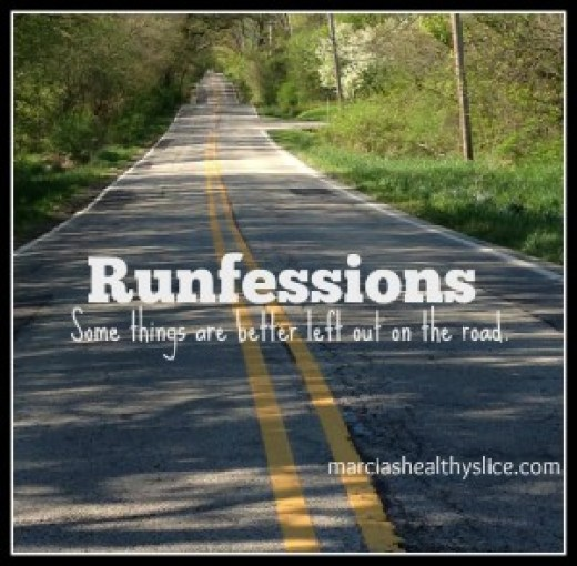 For the first time I'm sharing my runfessions for the month of June! TIme to let it all hang out!