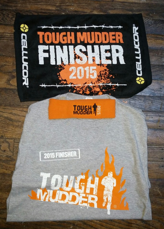 Tough Mudder Swag