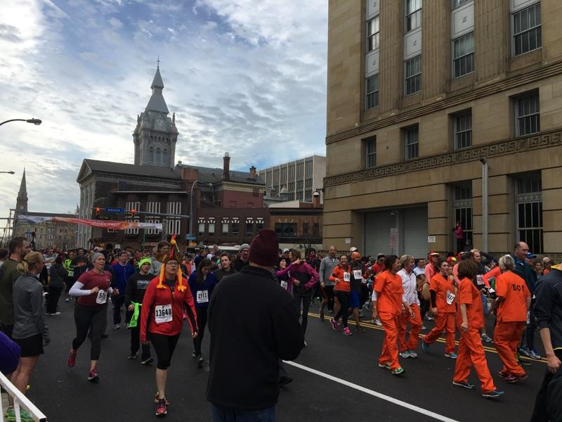 buffalo ymca turkey trot 2015