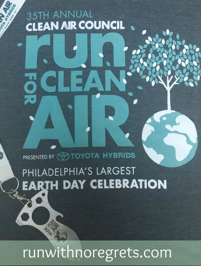 I ran the Run for Clean Air 5K in Philadelphia on April 16, 2016. It was an amazing experience and I got a huge PR! Check out my race recap and more on running at runwithnoregrets.com!