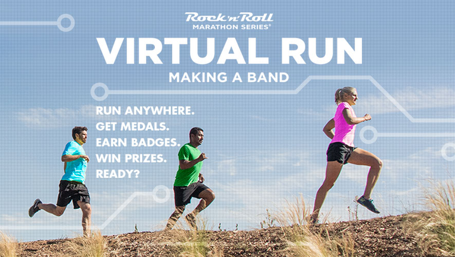 Do you like to rock it out while on the run? Sign up for the new virtual run from the Rock 'N Roll Series and get the chance to win special prizes and get great medals! Find out more at runwithnoregrets.com!