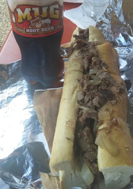 john's roast pork cheesesteak