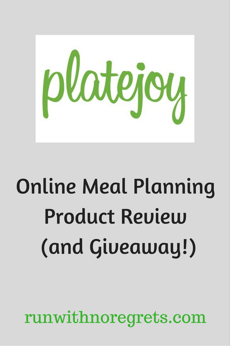 Have you struggled with keeping a consistent meal plan? Maybe PlateJoy can help! They have on personalized, on demand meal plans and I was able to try them out for a review! Check it out and more healthy living at runwithnoregrets.com!