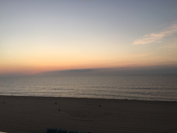 Beautiful sunrise from our room
