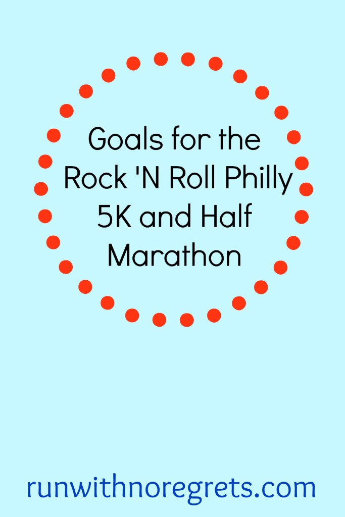 For the second time, I'm doing the Remix Challenge at the Rock 'N Roll Philly 5K and Half Marathon! Check out my goals for both races and more running tips at runwithnoregrets.com