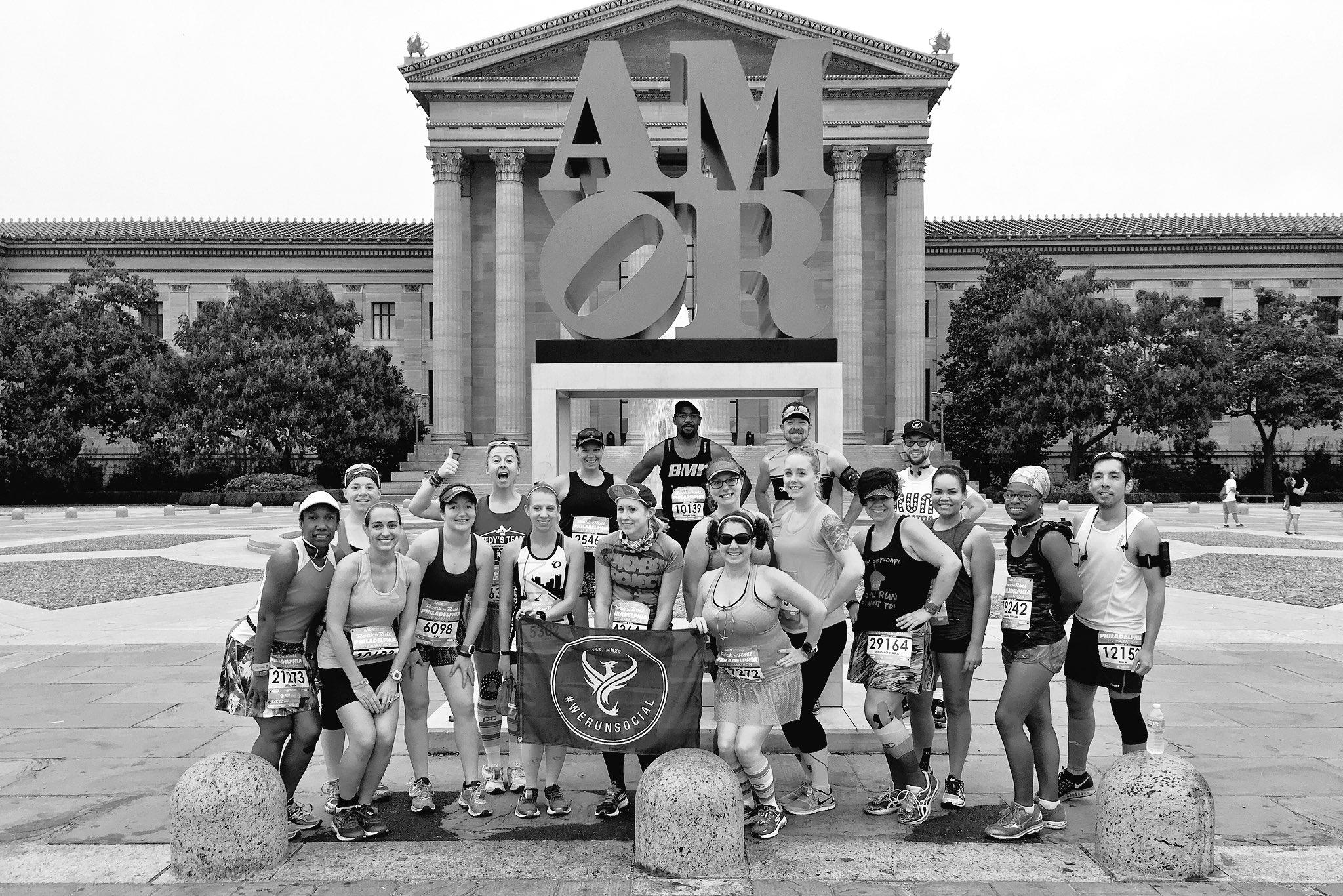 #WeRunSocial Group Photo Philly