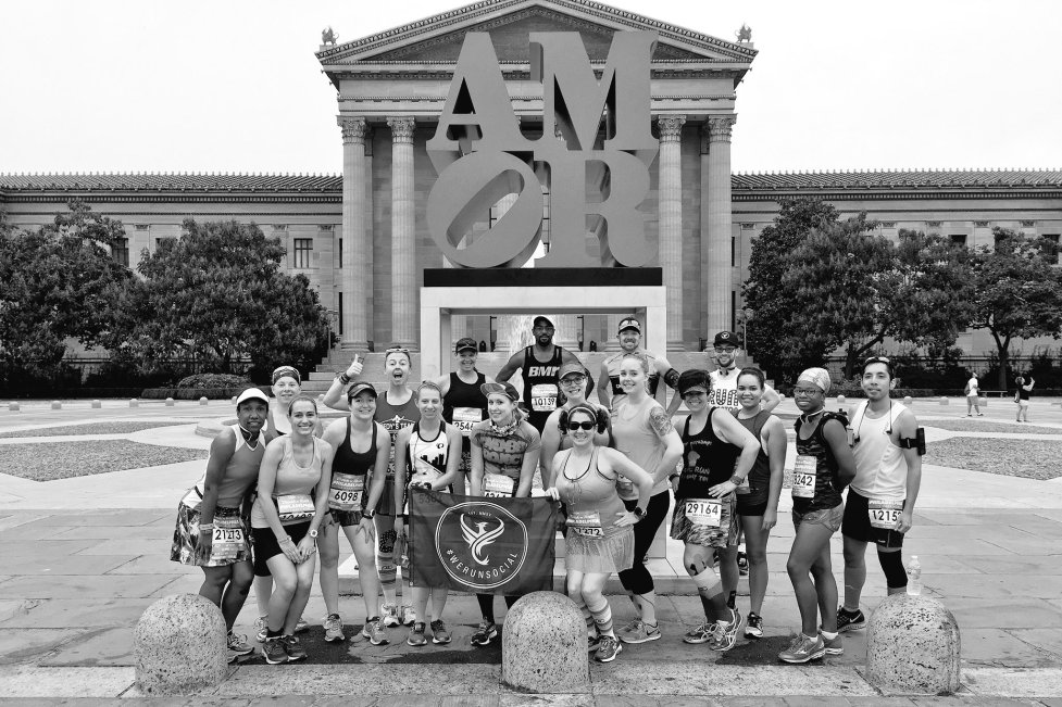 #WeRunSocial Group Photo Philly