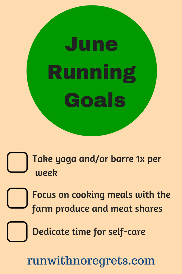 Check out my latest running goals! Check out more running and fitness conversations at runwithnoregrets.com!