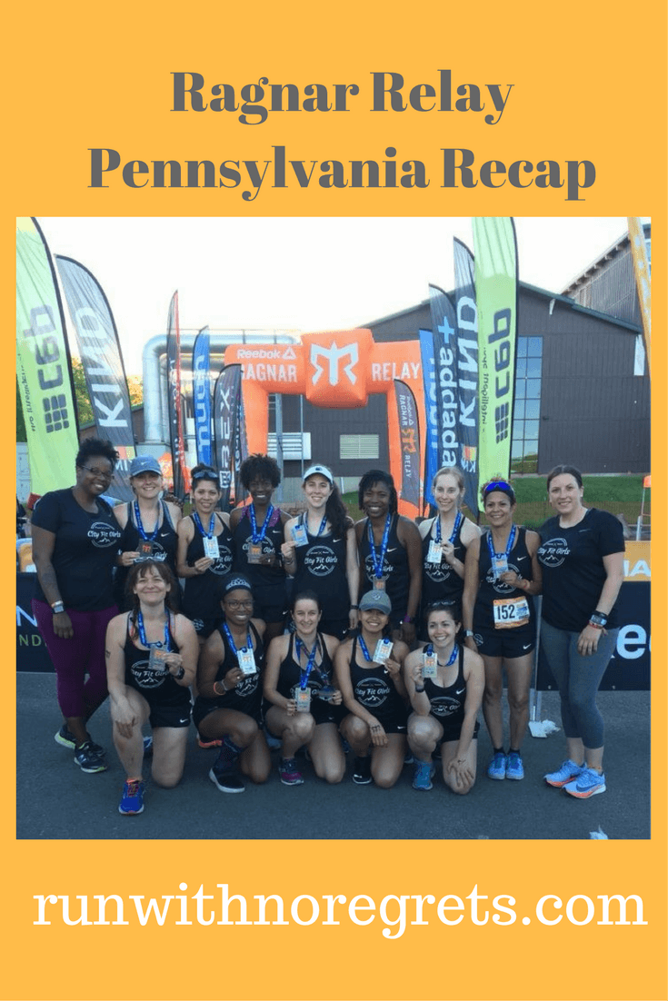Check out my recap of the Ragnar Relay in Pennsylvania with the City Fit Girls team! Find more running recaps and adventures at runwithnoregrets.com!
