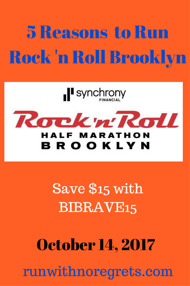 If you're looking for a great race this fall, check out the Rock 'n Roll Half Marathon and 5 Miler taking place on October 14, 2017! Save $15 with code BIBRAVE15!