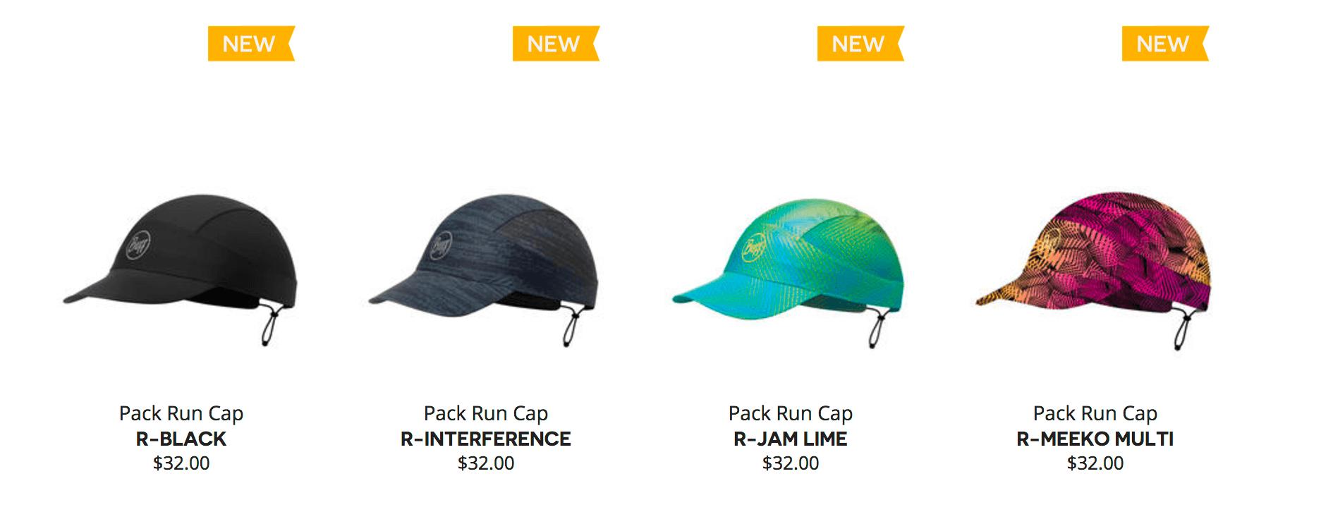 BUFF Pack Run Cap Colors