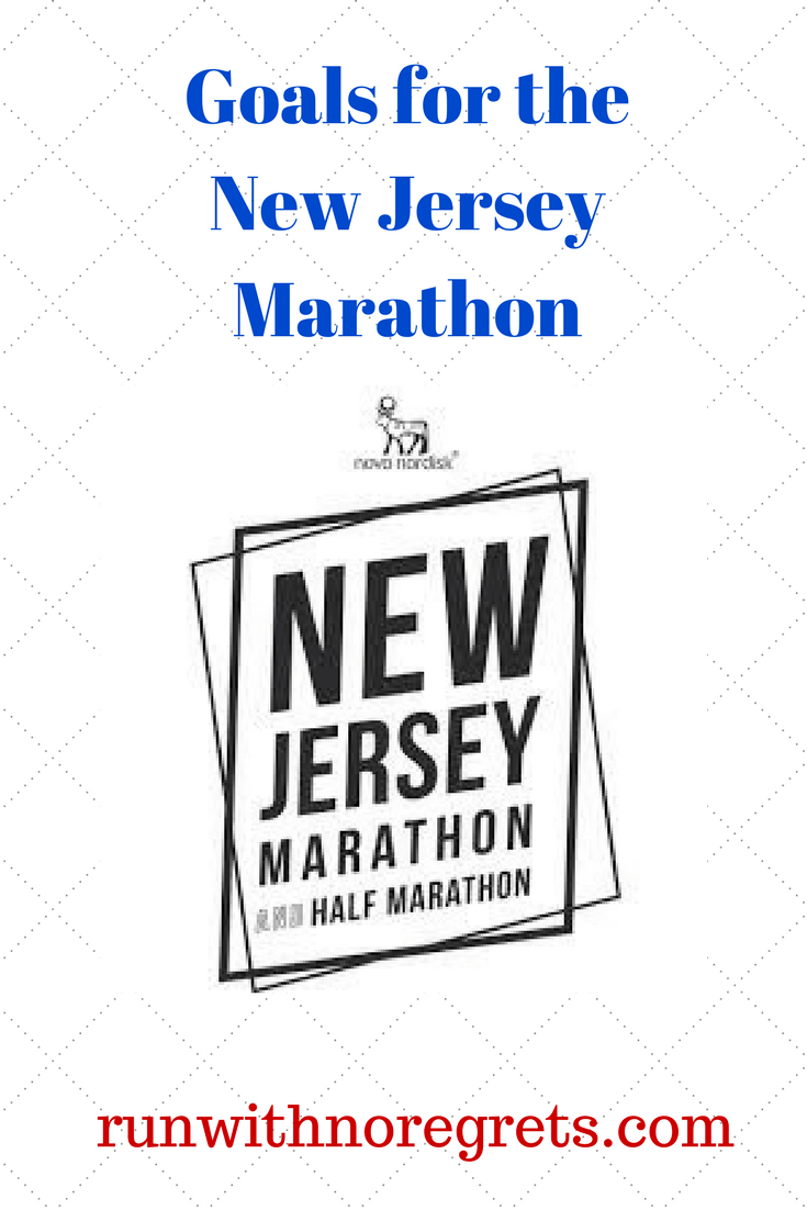 goals for the new jersey marathon