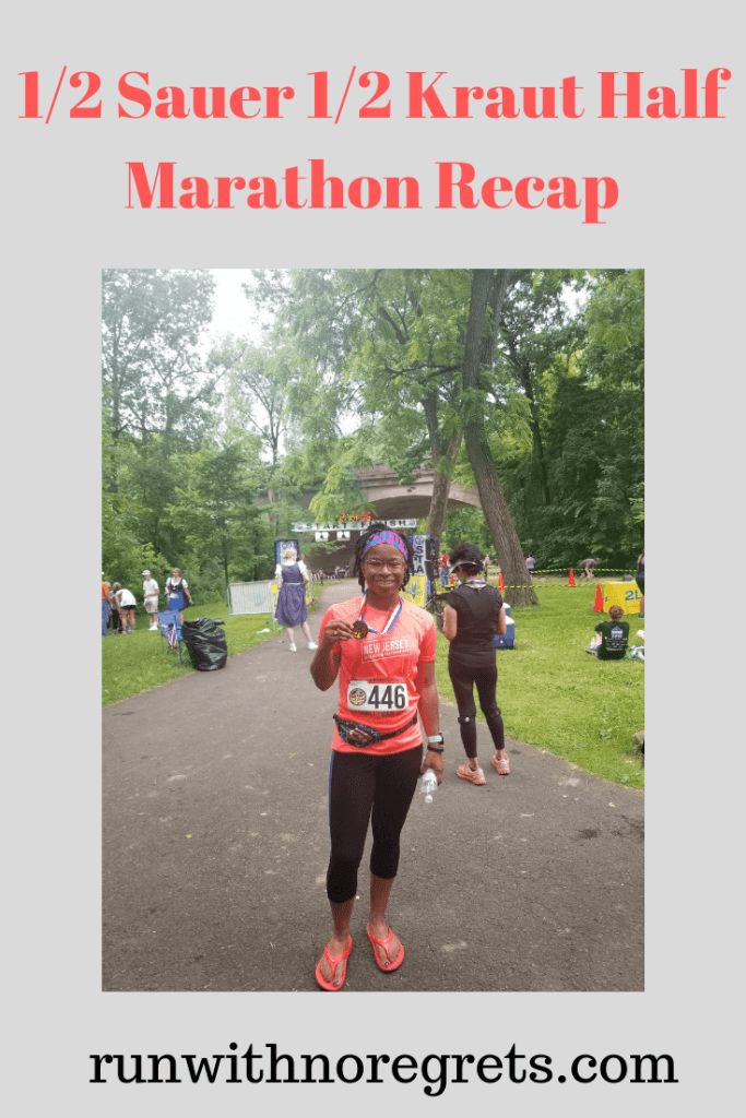 I'm sharing my recap of the 1/2 Sauer 1/2 Kraut Half Marathon, a fun and hilly trail half marathon in Philadelphia every June!  Check out more races at runwithnoregrets.com!