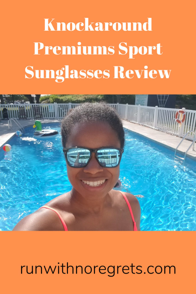 While this summer has been anything but typical, I'm making the most of it and along the way wearing Knockaround Premiums Sport sunglasses!  Check out my review at runwithnoregrets.com!