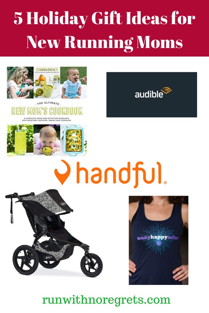 If you have a new mom in your life who runs, here are some great gift ideas good for the holidays or year-round!  Learn more at runwithnoregrets.com!