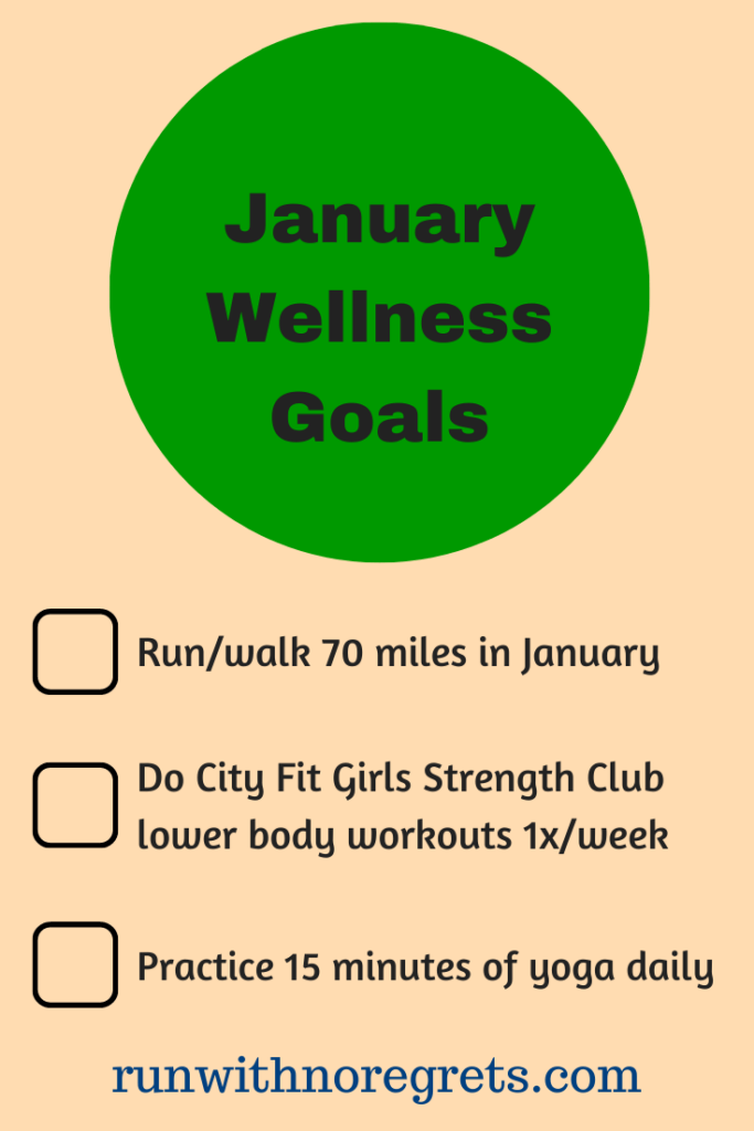 January wellness goals
