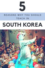 Reasons to teach in South korea