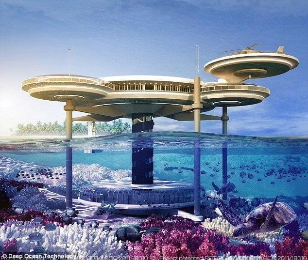 شاهد بالصور : دبي تبني أكبر فندق في العالم تحت الماء 1