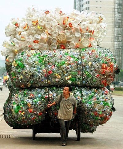 أفكار إعادة التدوير: أفكار إعادة تدوير الزجاجات البلاستيك 1