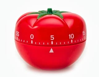 نظم وقتك بإستخدام طريقة منبه بومودورو أو منبه الطماطم 8