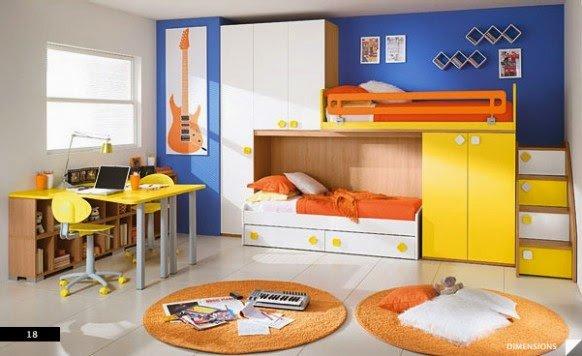 صور وأفكار لغرف نوم أطفال 2
