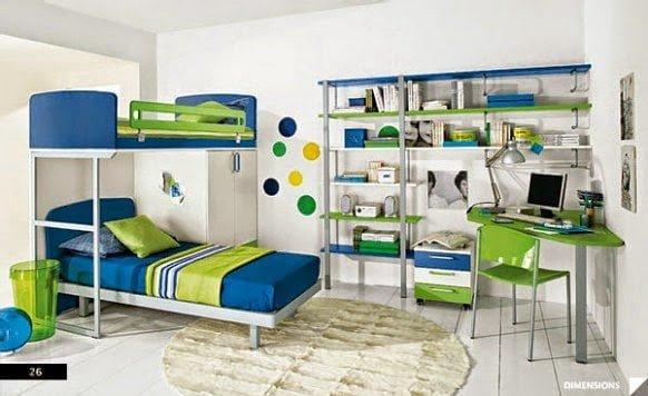 صور وأفكار لغرف نوم أطفال 5