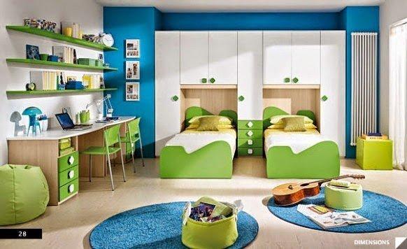 صور وأفكار لغرف نوم أطفال 11