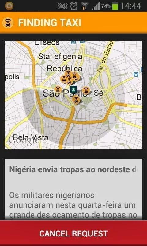 تطبيق إيزي تاكسي الآن في مصر Easy Taxi App