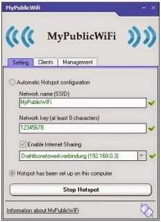 5 برامج لتحويل جهاز الكمبيوتر أو اللابتوب لراوتر لاسلكي  Wifi ! 3