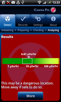تطبيق لهاتفك الجوال يحميك من الإشعاع ! 3