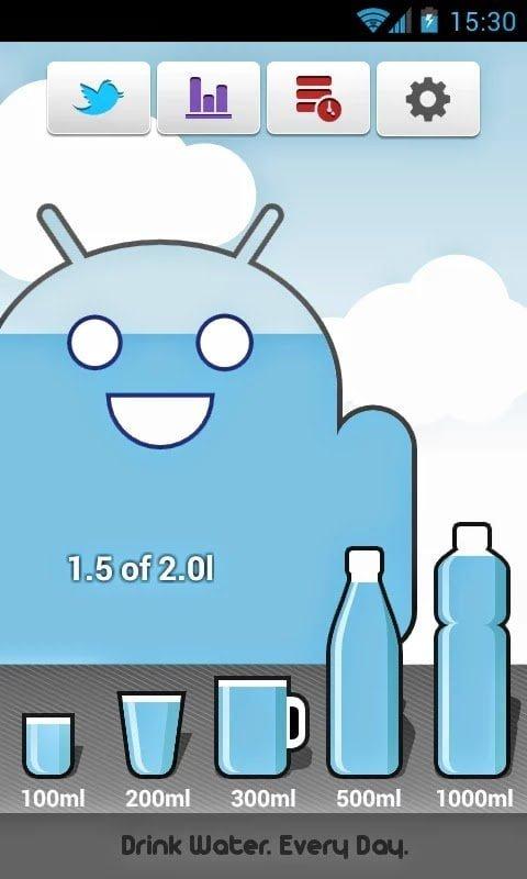 تطبيقات تساعدك على شرب الماء