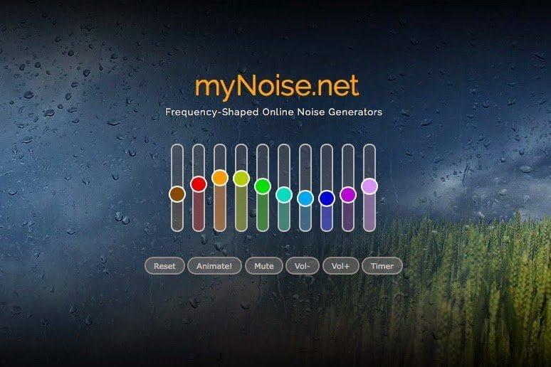 إستمع للضوضاء المفضلة لك !