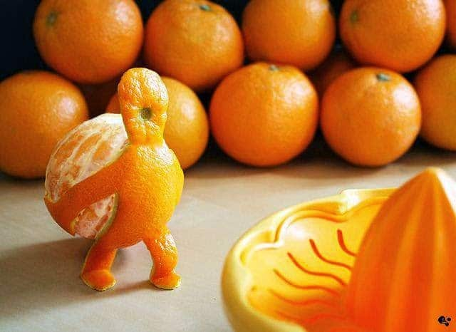 استخدامات و فوائد قشر البرتقال 1