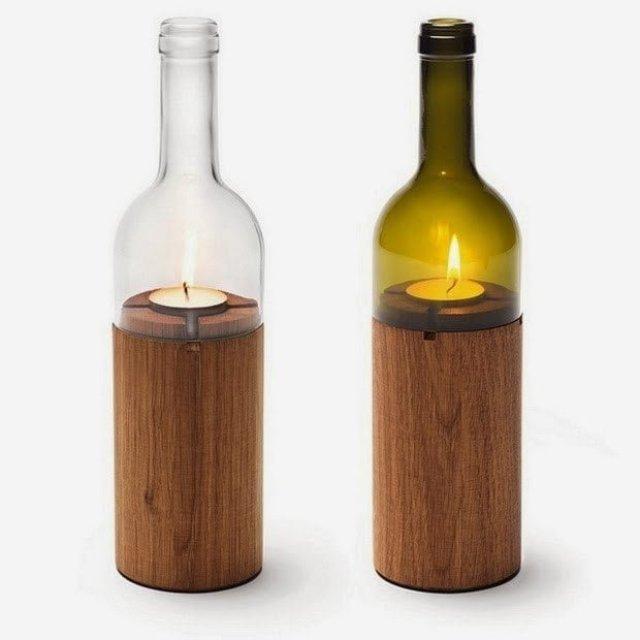 تعلم طريقة قص أو تقطيع الزجاجات ( الزجاج ) يدوياً بالخيط و اللهب ! 6