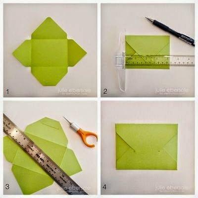 كيف تصنع ظرف من الورق بسيط وجميل – بالصور