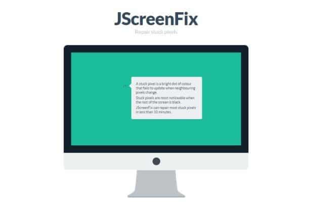 حل مشكلة النقاط المضيئة أو البقع الملونة التي تظهر على الشاشة 2