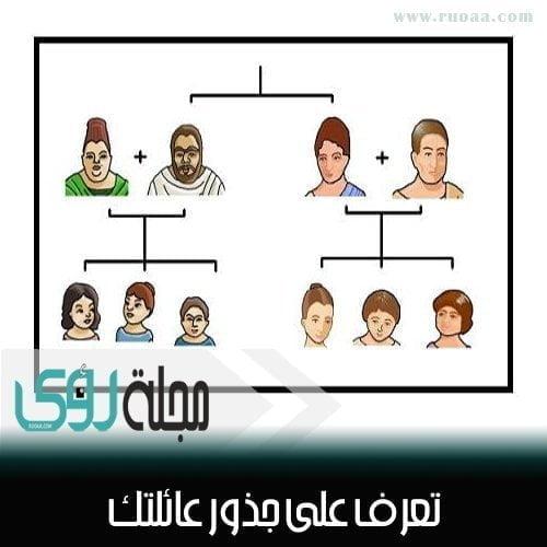 تعرف على جذور ِشجرة عائلتك من خلال هذا الموقع 1