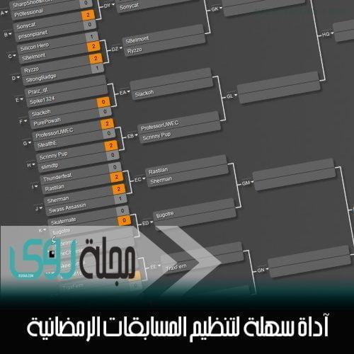 آداة سهلة لتنظيم المسابقات الرمضانية 1