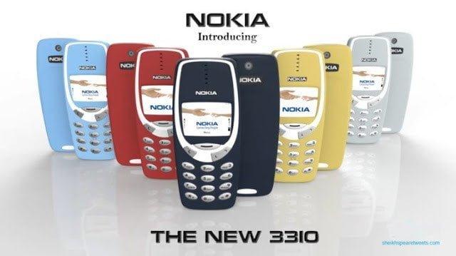 تعرف على مواصفات هاتف نوكيا 3310 الجديد