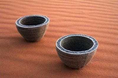 طابعة ثلاثية الأبعاد تحول الرمال إلى زجاج بحرارة الشمس فقط ! 3
