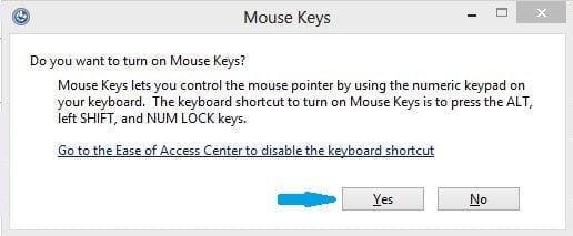 للطواريء : تعلم كيف تحول لوحة المفاتيح إلى ماوس 2