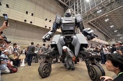 هل تبدأ الروبوتات العملاقة حرباً حقيقية بين أمريكا و اليابان ؟