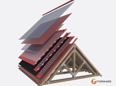 أسقف شمسية أرخص و أقوى من الأسقف العادية ! 5