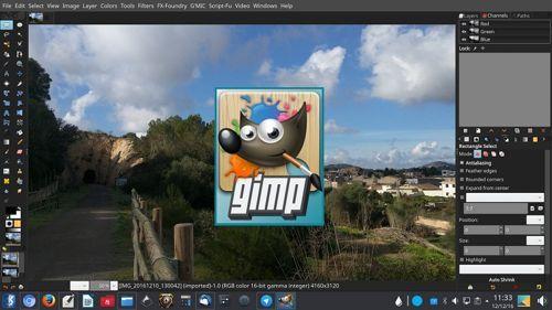 برنامج Gimp بديل فوتوشوب الأفضل