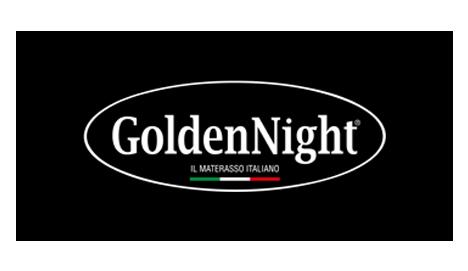 GoldenNight logo nero