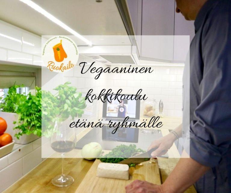 etä kokkikurssi kokkikoulu verkossa etä tyky