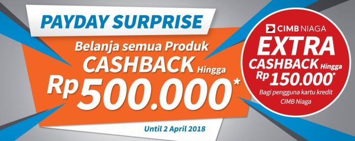 Cara Benar Menikmati Gajian + Cashback s.d Rp 650.000*