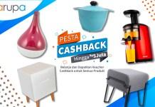 Pesta Cashback Hingga Rp 5.000.000